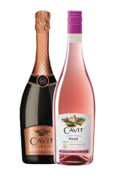 Palm Bay Debuts Cavit Rose and Prosecco
