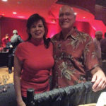 Rose McLean, Wine Account Development Specialist, CDI and Dale Kirschnitz from Salute in Hartford.