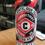 The Connecticut United FC Pilsner collaboration between the CT United FC team and Shebeen Brewing Company.