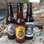 War Flag's Pilsner, Grandmaster IPA and Lady Justice Stout.