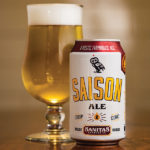 Sanitas Saison is the brewery's take on a classic Saison expression, with tangerine and bubble-gum-like Belgian yeast, offering grassy hop aromas.