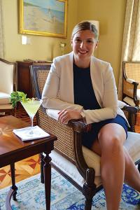 Charlotte Berdensey, Food and Beverage Director.
