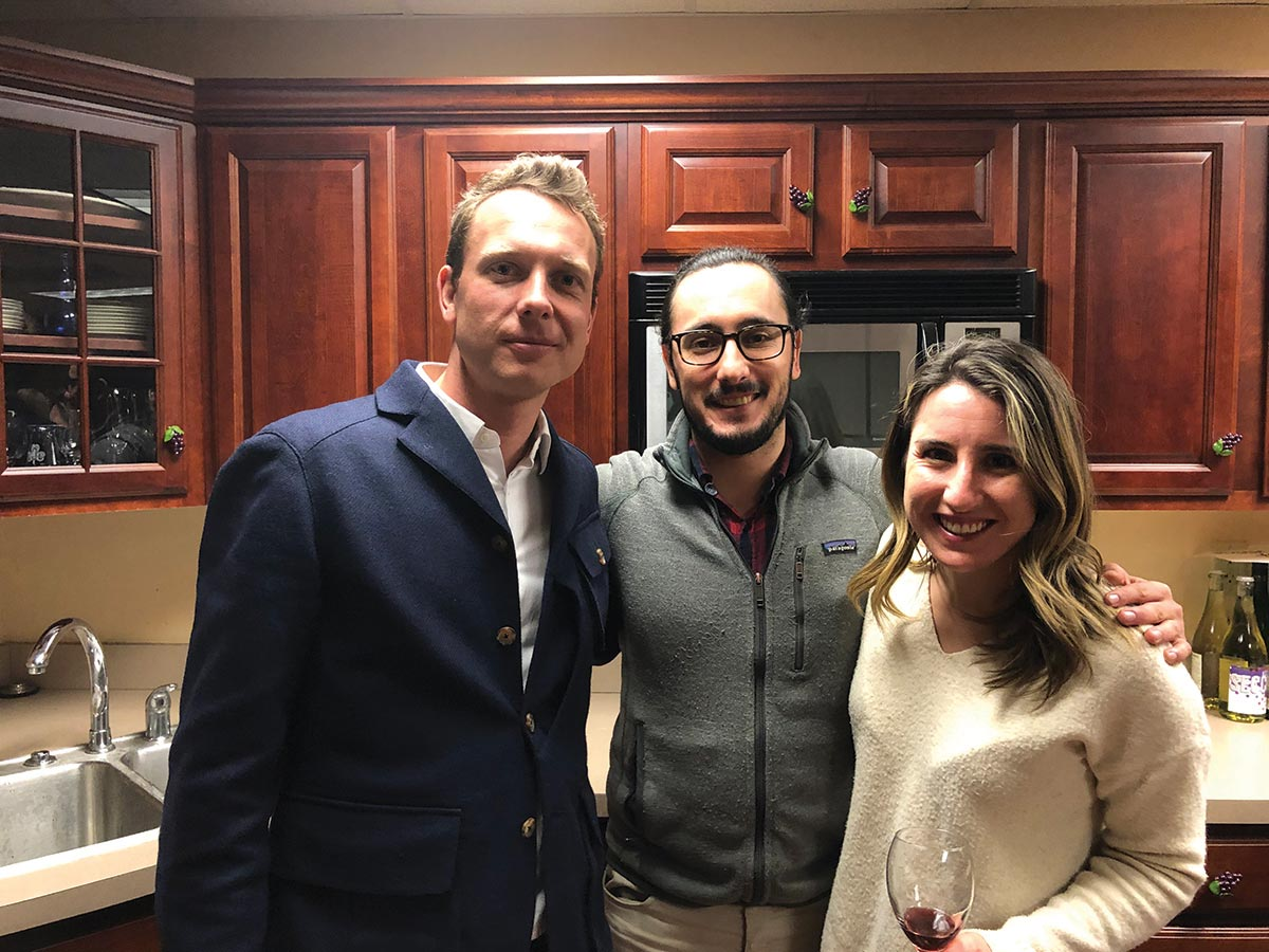 Slocum & Sons Hosts Visit from Italian Winery Owner