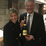Elisa Wybraniec, Sommelier, Coast Guard House and Jean Trimbach of Trimbach Wines.