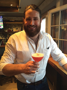 Cody Blount was named the first place winner of the Civil War USBG CT Competition on May 9, featuring Coppersea Corn Whiskey at Uncorked.