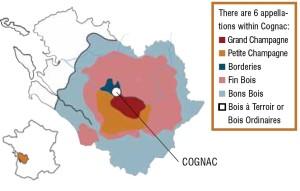cognac map