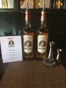 Coppersea Corn Whiskey was the featured spirit on August 22.