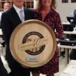 Brian Albenze, President, CDI and Pamela Macrini, NY & CT Regional Manager, J. Lohr Vineyards.