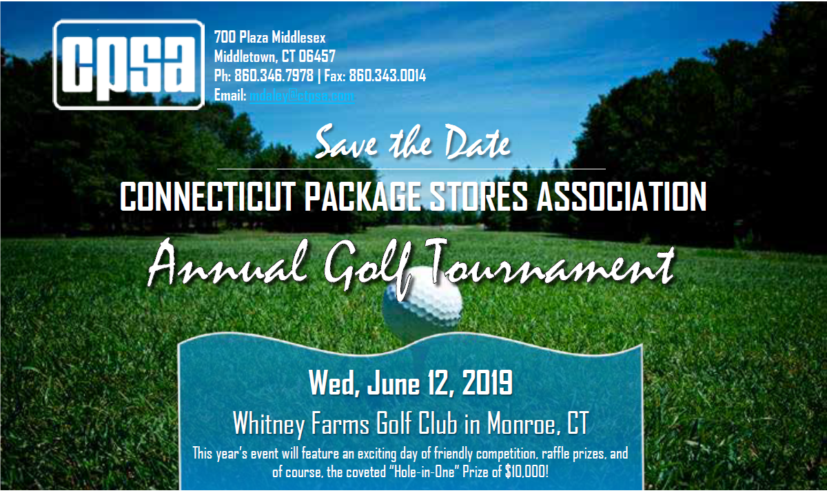 June 12, 2019: CPSA Annual Golf Outing/Save the Date