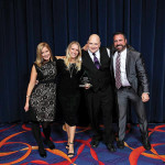 Coastal Gourmet Catering, Caterer of the Year: Kimberly Aubin, Sales and Event Manager; Jenna Landon, Sales and Event Manager; Andrew Fine, Executive Catering Chef; Michael Ferriera, Director of Sales and Catering. Photo by Brian Ambrose.