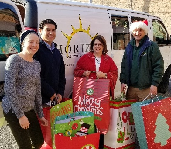 Horizon Beverage Provides Holiday Gifts Through Local Nonprofit