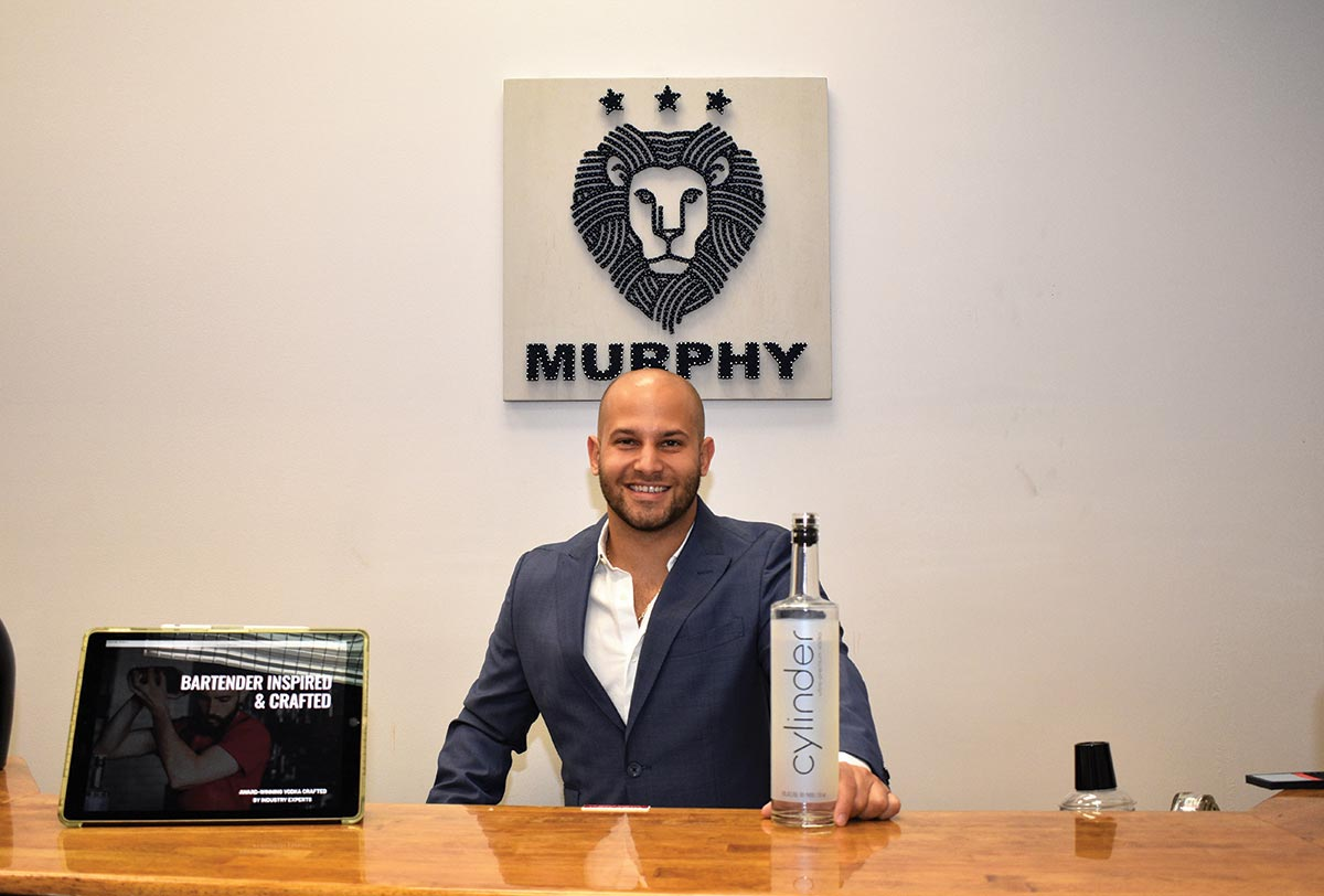 Cylinder Vodka Launches at Murphy Distributors