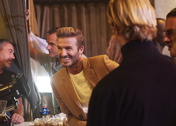 Haig Club Clubman Scotch Whisky Partners With David Beckham