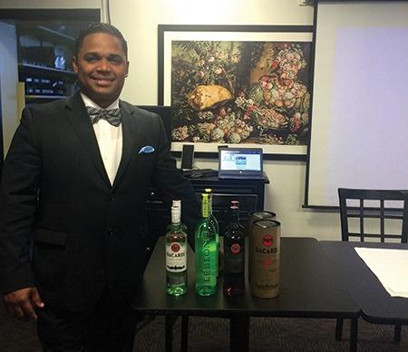David Cid, Global Ambassador of Rum and Cane Spirits for Bacardí USA.