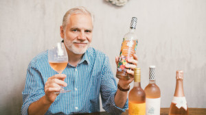 "At Wölffer Estate on Long Island, Roman Roth now crafts five rosés; the latest, ""Finca,"" is a collaborative project made in Argentina."
