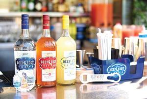 Deep Eddy Vodka Family of Bottles