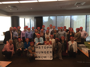 Employees donated time and effort to Stop Hunger Now to package approximately 10,500 meals that will be shipped throughout the world.