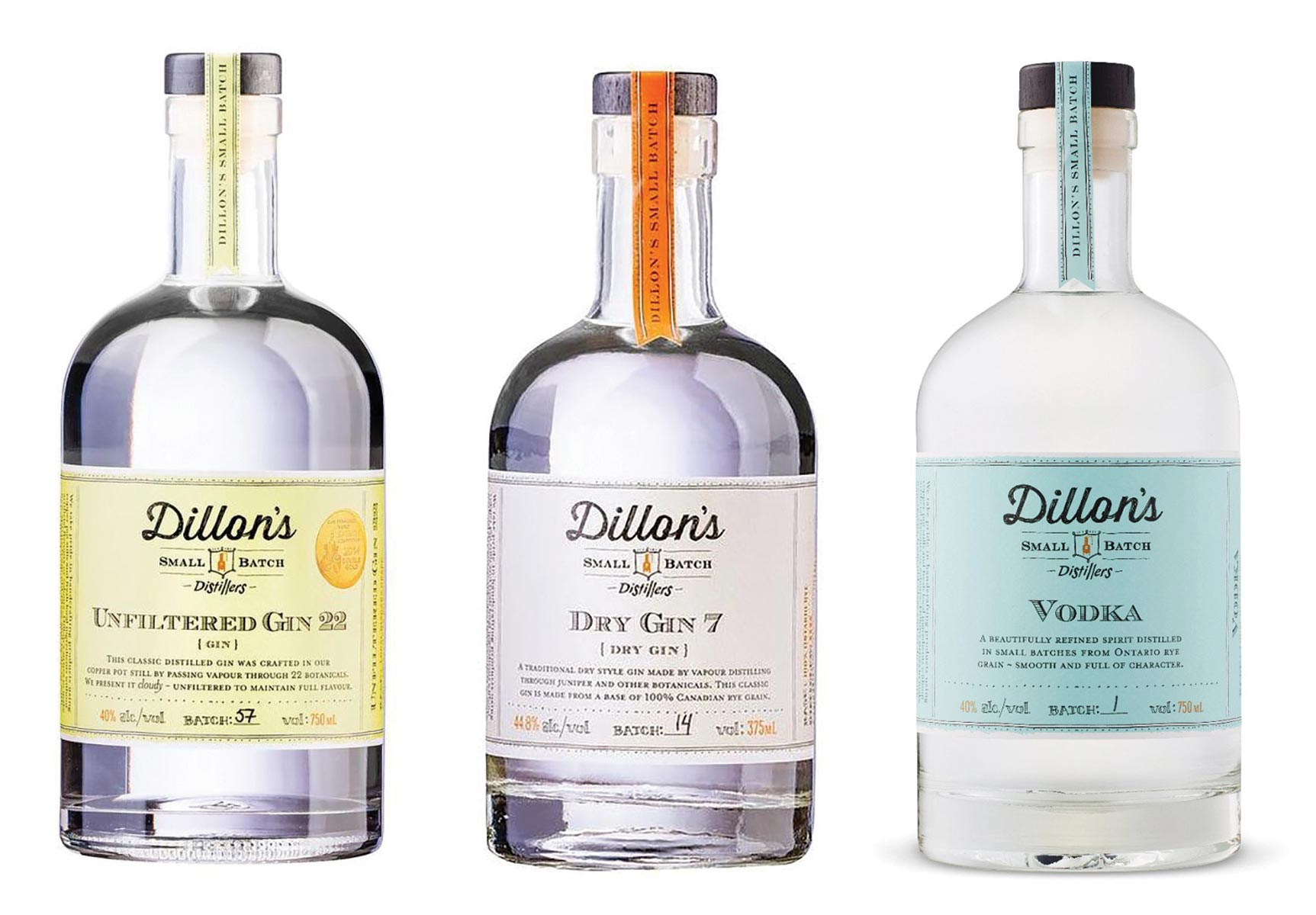 Dillon's Small Batch Spirits Added to Murphy Distributors