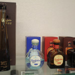 The tasting portfolio of Don Julio featured: 1942, in the 60th anniversary commemorative bottle resembling the shape of an agave leaf; Don Julio Blanco; Reposado and Anejo.
