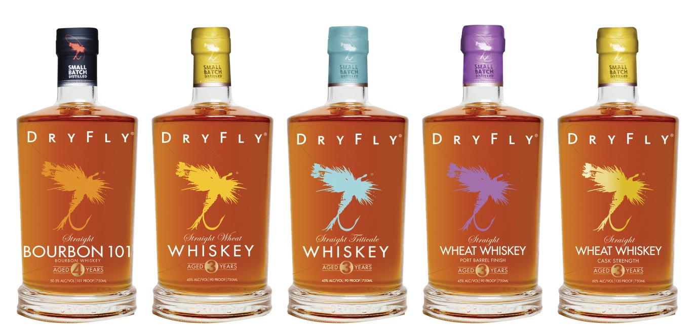Dry Fly Distilling Whiskies Available in Rhode Island