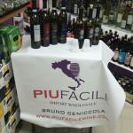 In-store tasting of the Piu Facile portfolio at East Haven Discount Wine & Spirit.