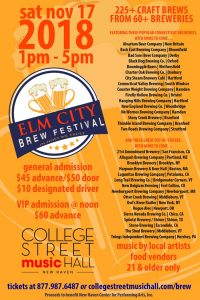 Elm City Brewfest @ College Street Music Hall   New Haven   Connecticut   United States