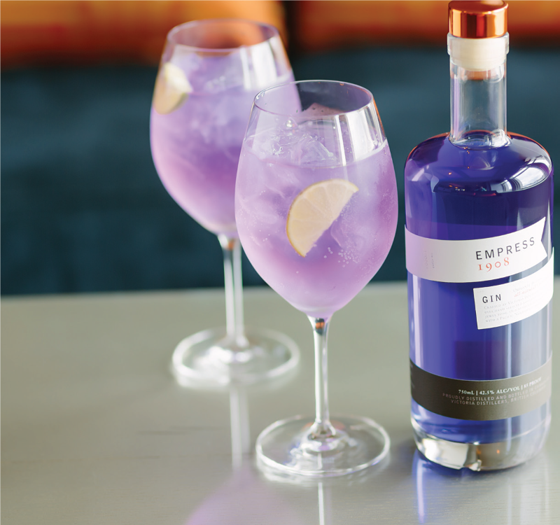 New and Blue: Color-Morphing Empress 1908 Gin