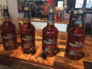 Old Forester Bourbon was the featured spirit at both competitions. The Kentucky brand is the longest running bourbon on the market, at approximately 145 years old. It was first bottled and marketed in 1870 by George Garvin Brown, the founder of the Brown-Forman Corporation.