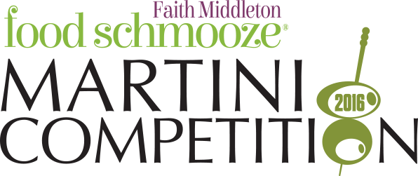 June 23, 2016: Faith Middleton Food Schmooze Martini Competition