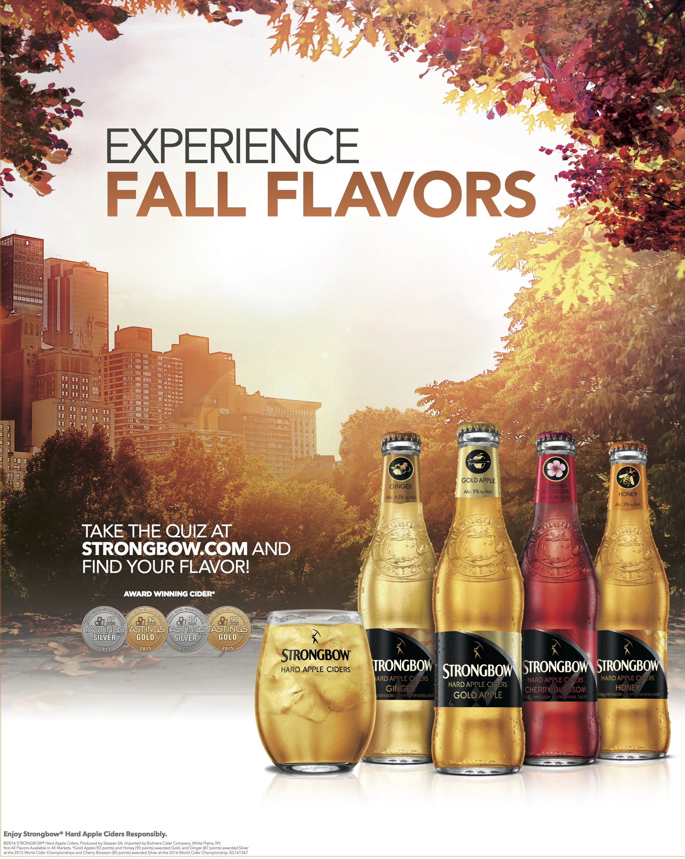 Strongbow Hard Apple Cider Launches Fall Consumer Campaign