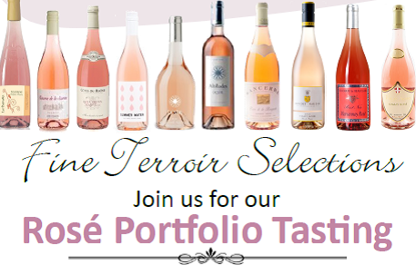 March 6 & 13, 2019: Fine Terroir Selections Trade-Only Rosé Tasting