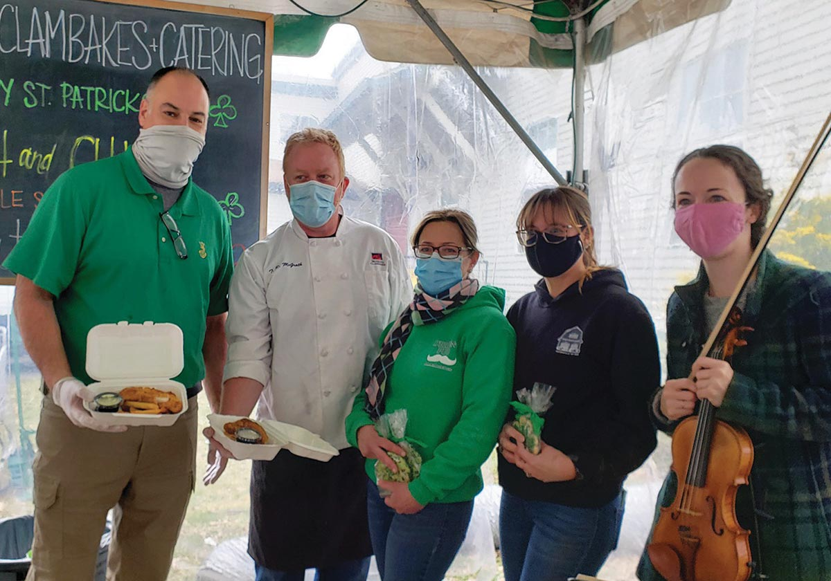 Local Restaurants Give Back for St. Patrick's Day