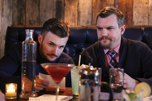 Ryan Tunnacliffe and Troy Clark served as cocktail competition judges.