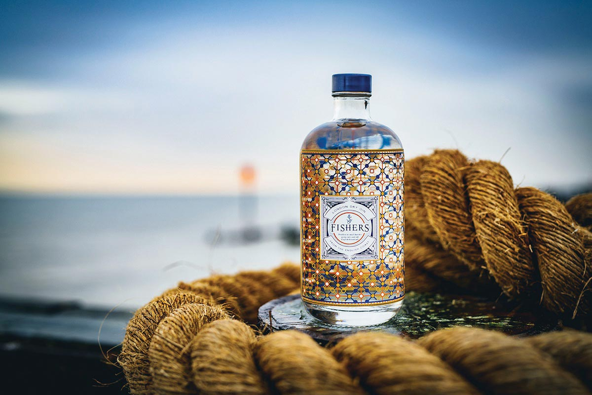 English Seacoast-Inspired Gin Makes State Debut