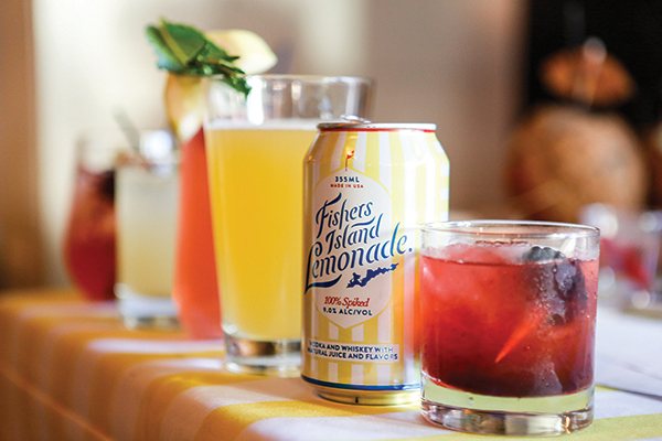 Cocktail Competition Features Fishers Island Lemonade
