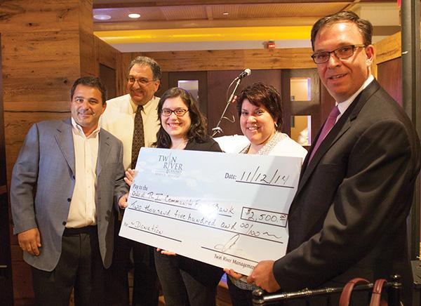 Twin River Casino Donates to RI Community Food Bank
