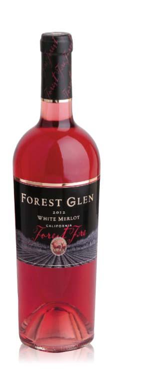 FOREST GLEN FOREST FIRE WHITE MERLOT SCORES TRIPLE CROWN