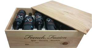 Lot 21 French Fusion Red available for a limited time in a wooden box