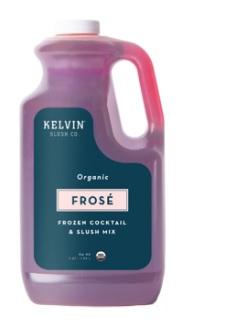 Kelvin Slush Releases Organic Frosé Mix