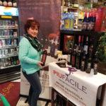 Gina Semonella, Owner, Gabel's Wine Shop in Branford, during the Piu Facile wine tasting in December.
