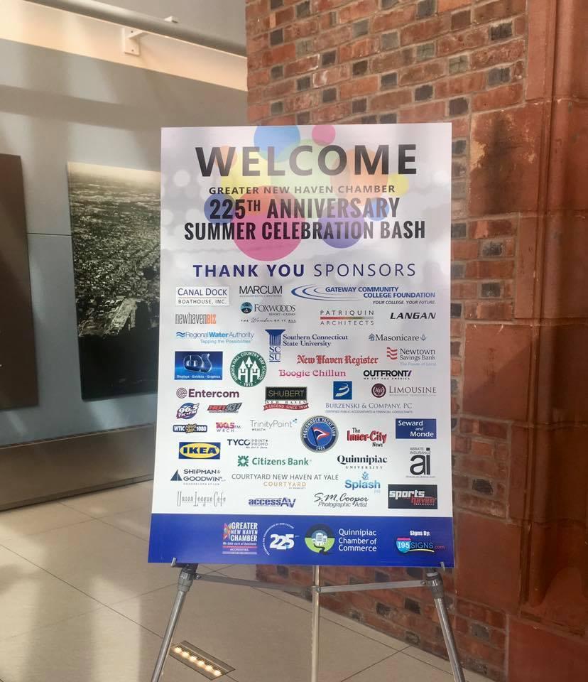 New Haven Chamber of Commerce Celebrates Milestone Anniversary