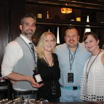 United States Bartenders' Guild Connecticut (USBG CT) chapter members: Adam Patrick, USBG CT President; Rachel Markoja; Roger Gross; Elizabeth Dunn.