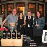 All with Brockmans Gin: Bob Fowkes, Co-founder and Director; Lisa Panteleakos, Market Manager CT/RI; David McNicoll, Market Manager NY; Jennifer Sutherland, Market Manager MA.