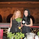 Donna Taylor and Mya Scott representing Hendrick's Gin.