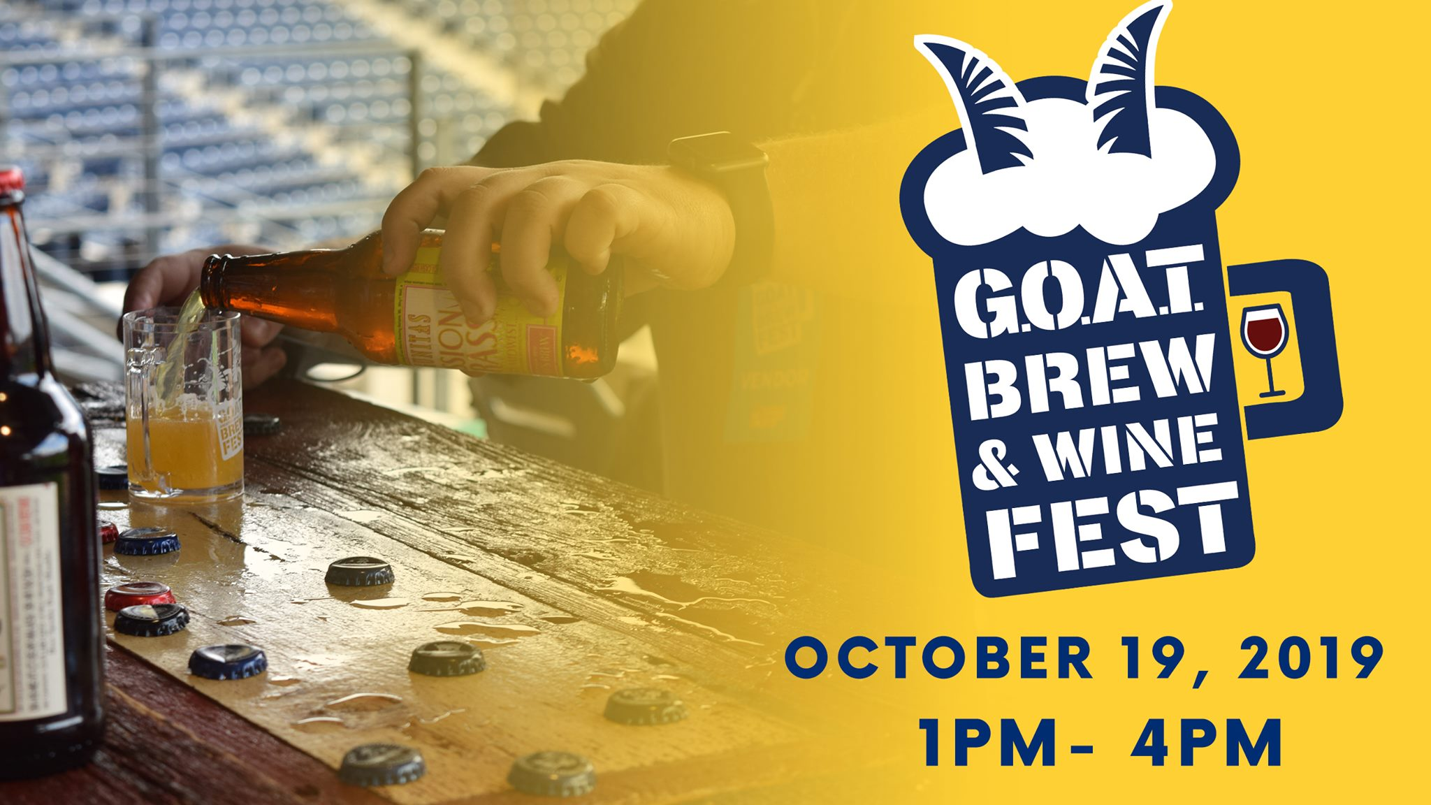 October 19, 2019: G.O.A.T. Brew & Wine Fest