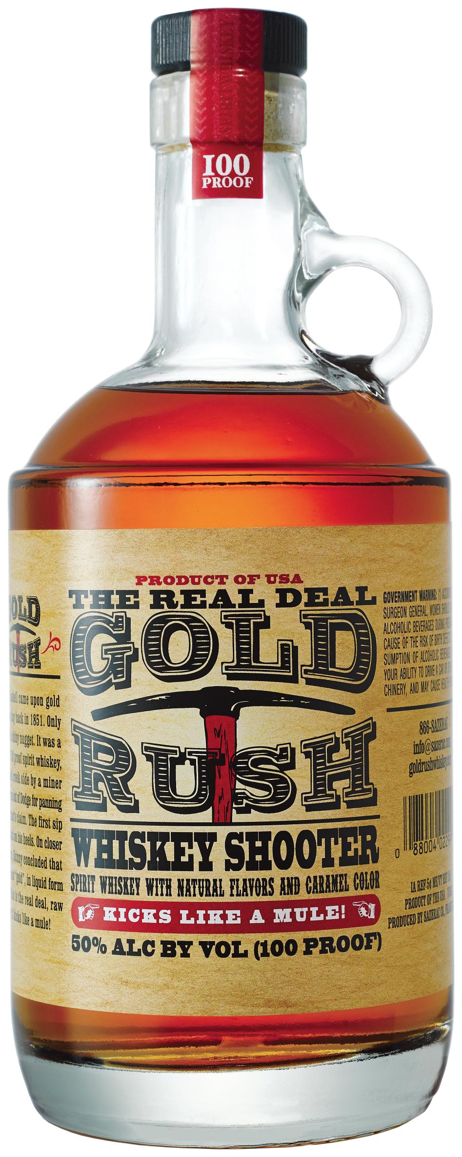 Park Avenue Spirits Debuts Gold Rush Whiskey Shooter