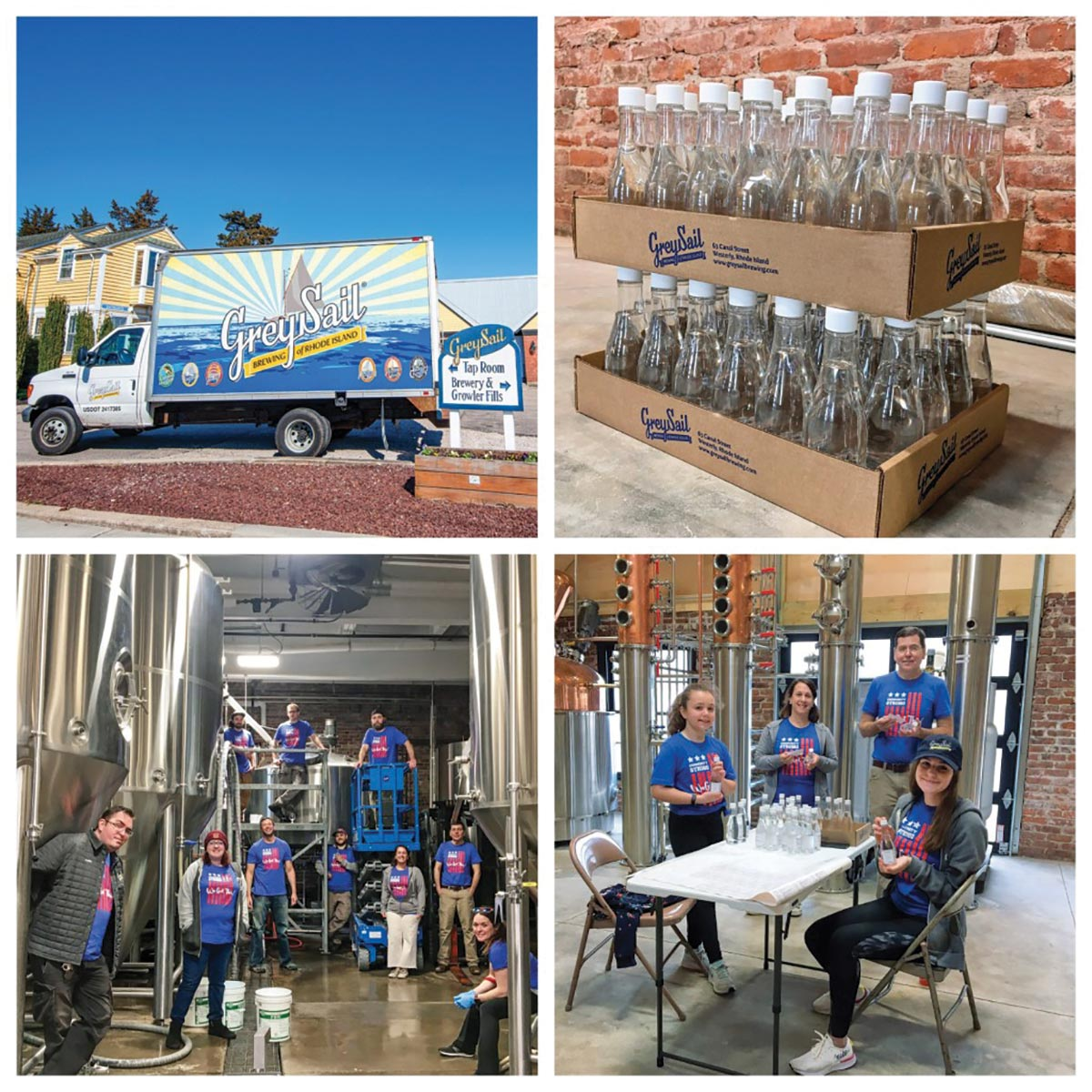 Grey Sail Brewing Recognized for Good Deeds