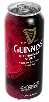 Guinness Launches Red Harvest Stout for Fall