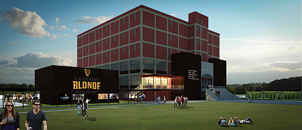 Diageo Announces Plans to Open U.S. Guinness Brewery