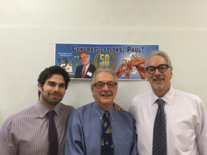 Hartley & Parker's David Rosenberg, Vice President, Paul Angelico, General Sales Manager and Jerry Rosenberg, President.